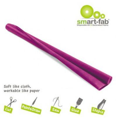 "Smart-Fab 48"" x 40 ft. Dark Purple Disposable Fabric Roll"