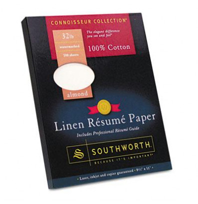 Almond resume paper