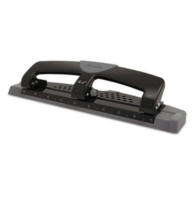 Swingline 12-Sheet SmartTouch 3-Hole Punch