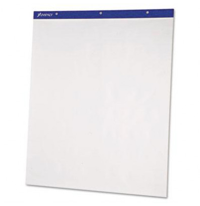 "Ampad Recycled 20"" x 25"", 50-Sheet, 2-Pack, Unruled Flip Charts"