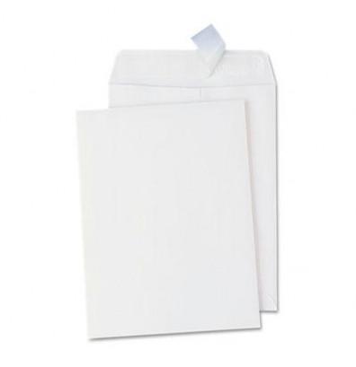 "Universal One 9"" x 12"" Peel & Seal Catalog Envelope, White, 100/Box"