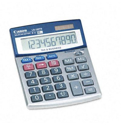 Canon LS100TS Portable 10-Digit Desktop Business Calculator