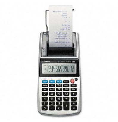 Canon P1-DHV One-Color 12-Digit Printing Calculator