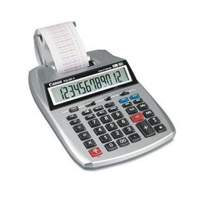 Canon P23-DHV Two-Color 12-Digit Printing Calculator