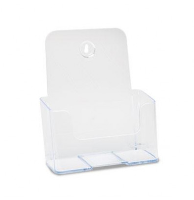 Deflect-o Office Brochure Size DocuHolder Literature Rack, Clear