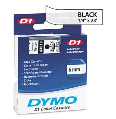 Dymo D1 43610 Polyester 1/4
