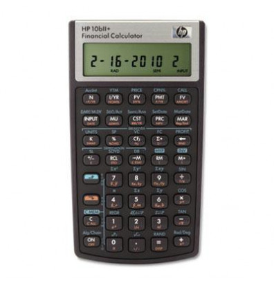 HP 10bII+ 12-Digit Financial Calculator
