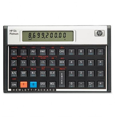 HP 12c Platinum 10-Digit Financial Calculator