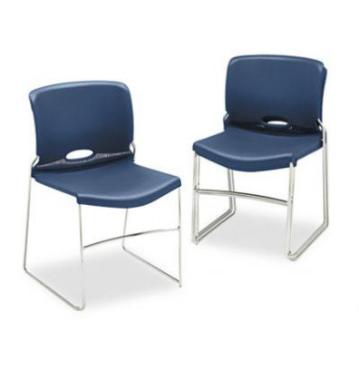 Hon Olson 4041 Polymer Plastic Stacking Chair 4 Pack