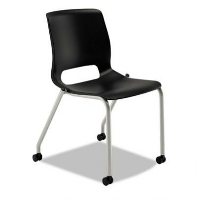 HON Motivate MG101ON Polypropylene Plastic Stacking Chair, 2-Pack