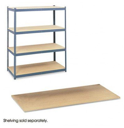 "Safco Archival 5261 69"" W x 33"" D 4-Pack Extra Particleboard Shelves"