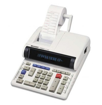 Sharp CS-2850A Two-Color 12-Digit Printing Calculator