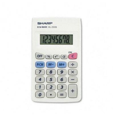 Sharp EL233SB 8-Digit Pocket Calculator