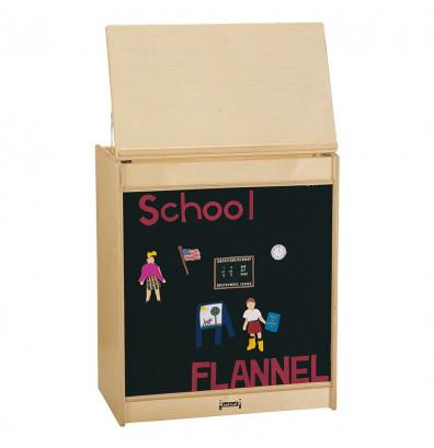 """Jonti-Craft 24"""" W Flannel Board Big Book Easel"""