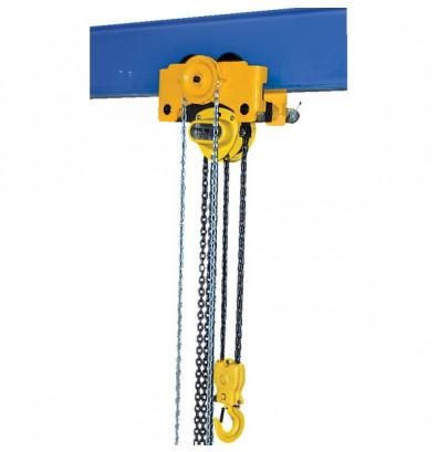 low headroom manual chain hoist