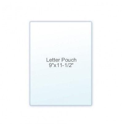 "Akiles 5 Mil Letter Size 9"" x 11.5"" Laminating Pouches (100 pcs)"