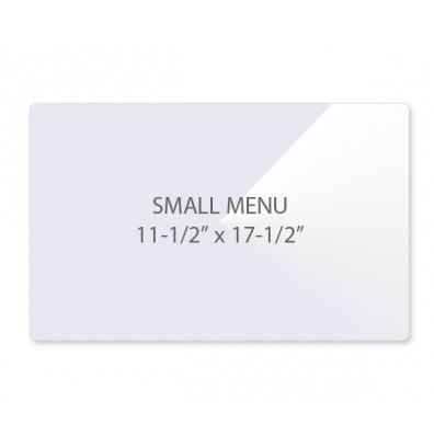 "Akiles 3 Mil Menu Size 11.5"" x 17.5"" Laminating Pouches (100 pcs)"