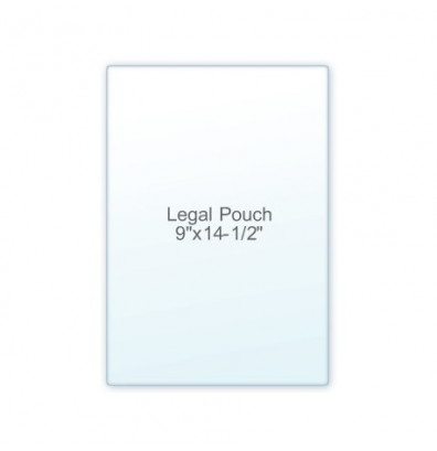 "Akiles 5 Mil Legal Size 9"" x 14.5"" Laminating Pouches (100 pcs)"