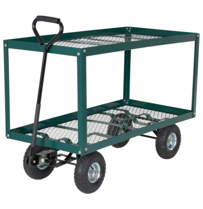 Vestil Two Shelf Landscaping Cart