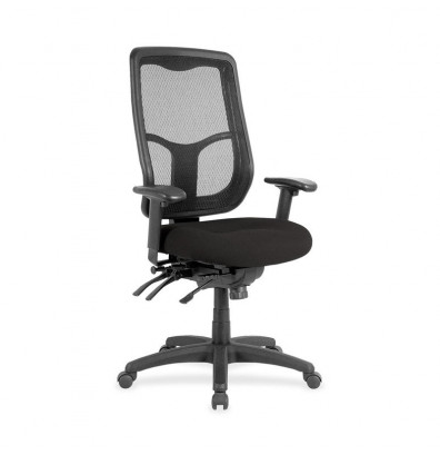 Eurotech Apollo MFHB9SL Ratchet Mesh-Back Fabric High-Back Task Chair