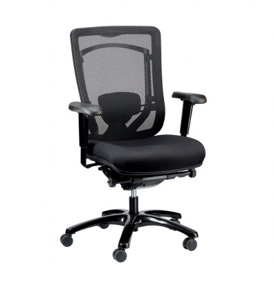 Eurotech Monterey MFSY77 Mesh-Back Fabric High-Back Office Chair