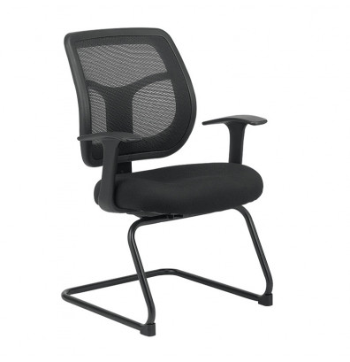 Eurotech Apollo MTG9900 Mesh-Back Fabric Mid-Back Guest Chair