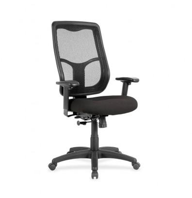 Eurotech Apollo MTHB94 Ratchet Mesh-Back Fabric High-Back Task Chair
