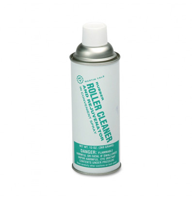 Martin Yale 200 Rubber Roller Cleaner Spray Can for Paper Folding Machines