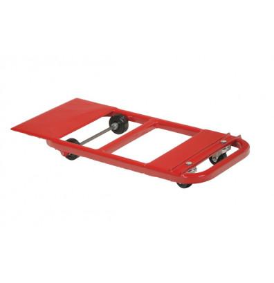 """Vestil NPL-21 Nose Plate Lever-Action 600 lb. 15"""" x 32"""" Steel Dolly"""