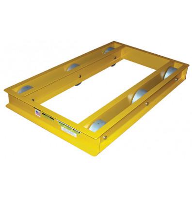 """Vestil ODMD-2436-6 Open-Deck 6000 lb. 24"""" x 36"""" Machinery Dolly"""