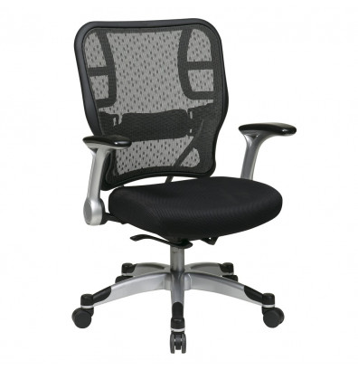 Office Star Space Seating Deluxe R2 SpaceGrid Mesh Mid-Back Office Chair