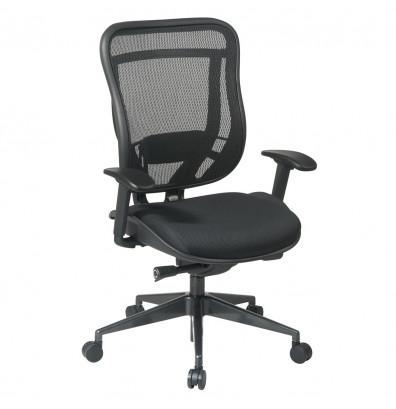 Office Star Space Seating Multifunction Mesh High-Back Executive Chair