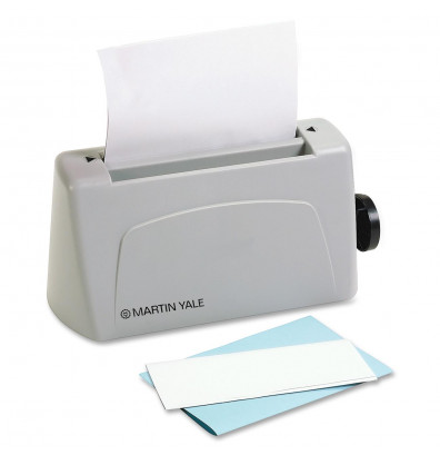 Martin Yale P6400 3-Sheet Desktop Half/Letter Paper Folding Machine