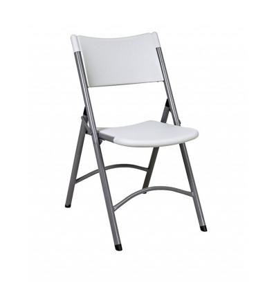 Office Star 4-Pack Resin Plastic Folding Chair (Model PC-02)