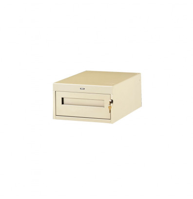 "Tennsco PED-10-30 Hanging 1-Drawer Unit (30"" D Workstation) - Shown in Sand"