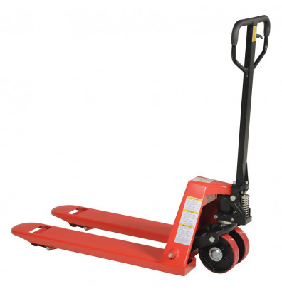 "Vestil Economical Full Featured 5500 lb Capacity Narrow Pallet Truck 20"" W x 36"" L"