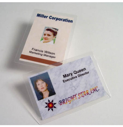 "Akiles 5 Mil Credit Card Size 2-1/8"" x 3-3/8"" Laminating Pouches (500 pcs)"