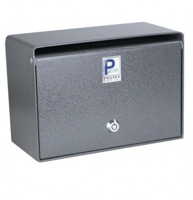 Protex SDB-200 313 Cubic Inch Wall Mounted Deposit Drop Box