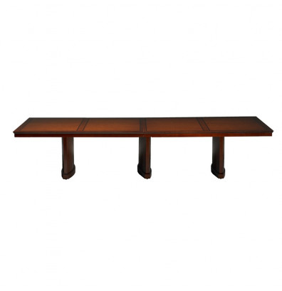 Mayline SC12 Sorrento 12 ft Rectangular Conference Table (Shown in Bourbon Cherry)