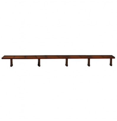 Mayline Sorrento SC30 30 ft Conference Table, Bourbon Cherry