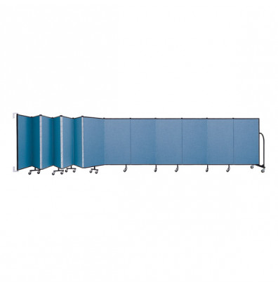 "ScreenFlex CWM4013 WallMount Configurable Room Dividers 4'H x 23' 10""L"