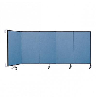 """ScreenFlex CWM405 WallMount Configurable Room Dividers 4'H x 9' 2""""L"""