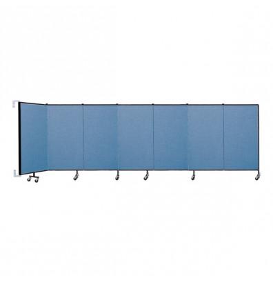"""ScreenFlex CWM407 WallMount Configurable Room Dividers 4'H x 12' 10""""L"""