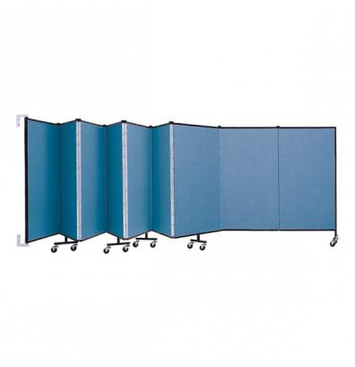 """ScreenFlex CWM409 WallMount Configurable Room Dividers 4'H x 16' 6""""L"""