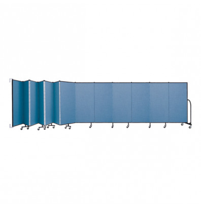 "ScreenFlex CWM5013 WallMount Configurable Room Dividers 5'H x 23' 10""L"