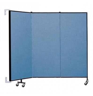 """ScreenFlex CWM503 WallMount Configurable Room Dividers 5'H x 5'6""""L"""