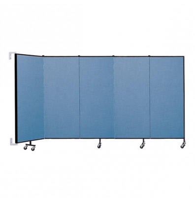 "ScreenFlex CWM505 WallMount Configurable Room Dividers 5'H x 9' 2""L"