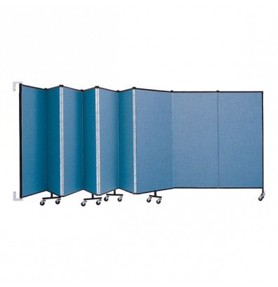 """ScreenFlex CWM509 WallMount Configurable Room Dividers 5'H x 16' 6""""L"""