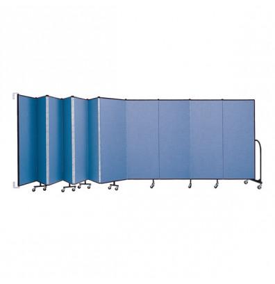 """ScreenFlex CWM6011 WallMount Configurable Room Dividers 6'H x 20' 2""""L"""