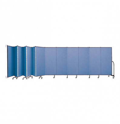 "ScreenFlex CWM6013 WallMount Configurable Room Dividers 6'H x 23' 10""L"